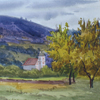 Austria. Surroundings of Oberrann's castle, 2005 23x25 cm; эту картину можно купить