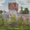 Tower of Novodevichy monastery, 2008