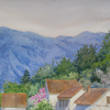 Montenegro. Mountain settlement, 2010