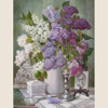 Lilac blooms so tenderly and beautifully, 2010 102x66 cm; картина не продается