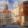 Palace Balbi and Foscari on bend of channel, 2005 60x49 cm; картина не продается