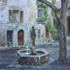 Eze-village. Quiet place, 2012