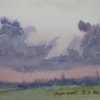 Khotkovo. Clouds in sunset, 2008