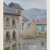 Cyprus. Monastery in village Omodos after rain, 2011 31x22 cm; эту картину можно купить