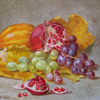 Autumn still life with pomegranate, 2007